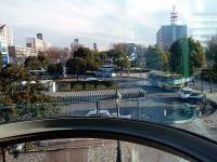 航空公園駅東口ロータリー