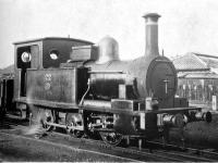 ナスミス・ウィルソン社製のタンク蒸気機関車