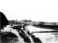 海中築堤工事