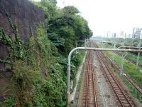 見附駅構想線路