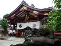 素盞雄神社拝殿