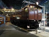ED17形式電気機関車 車号ED171