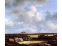 漂白場のあるハールレムの風景