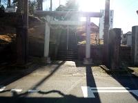 諏訪神社の一の鳥居