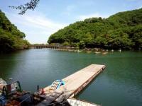 間瀬湖桟橋