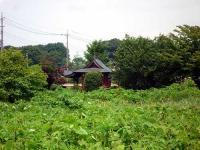 旧下平塚村の稲荷社