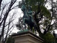 熾仁親王銅像