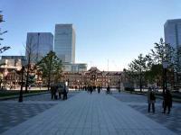 復原された東京駅