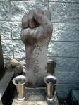 腕の喜三郎の墓