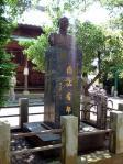 蒋介石元総統の像