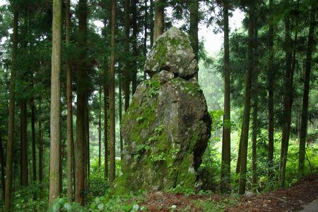 宗津の首切れ石