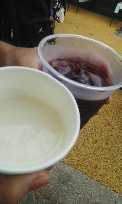 梅酒と濁り酒