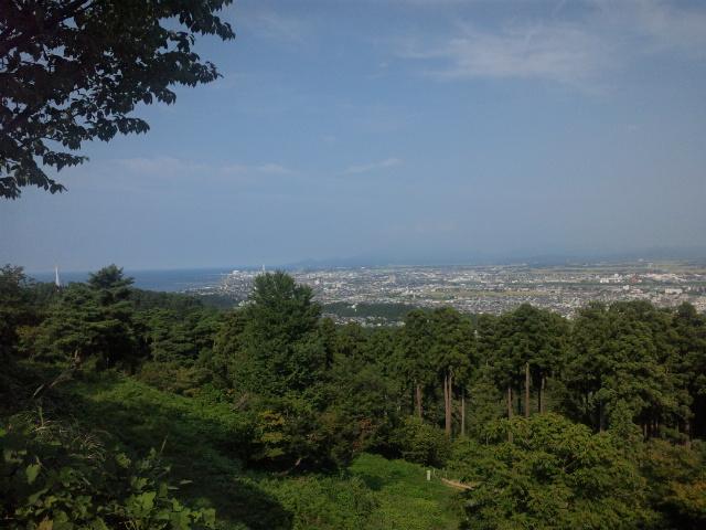 直江津と日本海