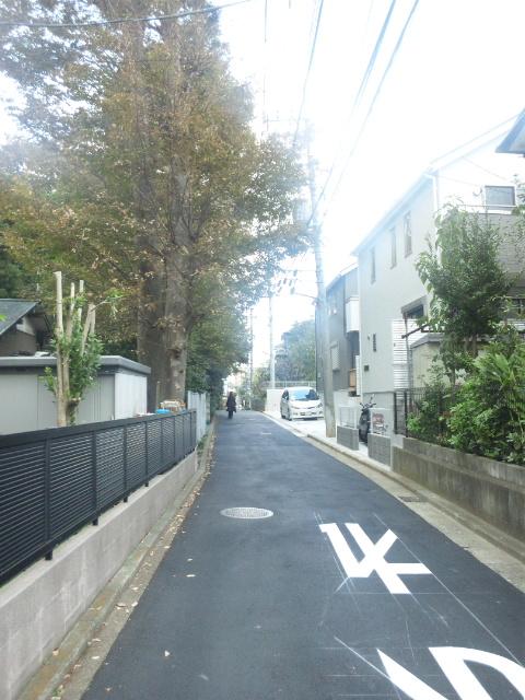 品濃の旧道