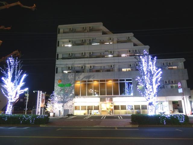 大成本社 外観 クリスマス 2012_R