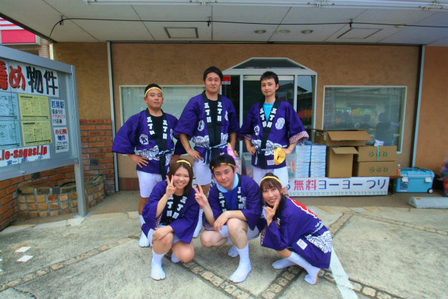 大成住宅 2013年7月 坂戸夏祭り③