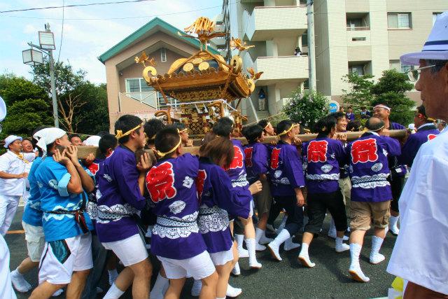 大成住宅 2013年7月 坂戸夏祭り④