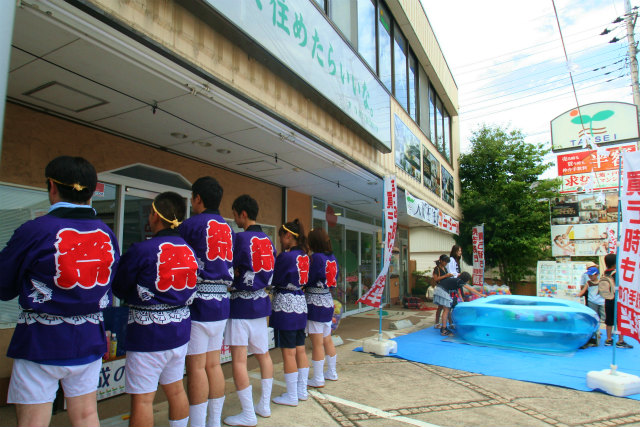 大成住宅 2013年7月 坂戸夏祭り⑤
