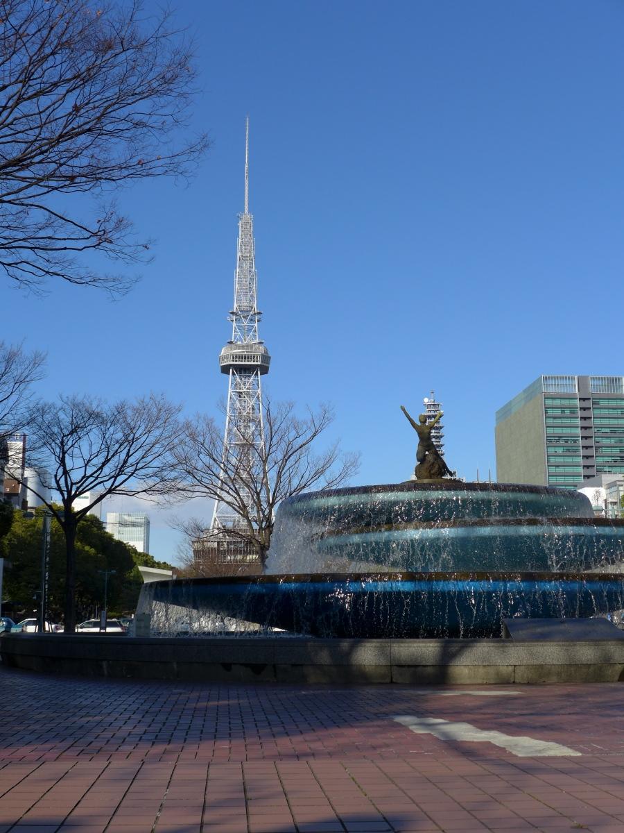 (121224) 栄噴水&テレビ塔