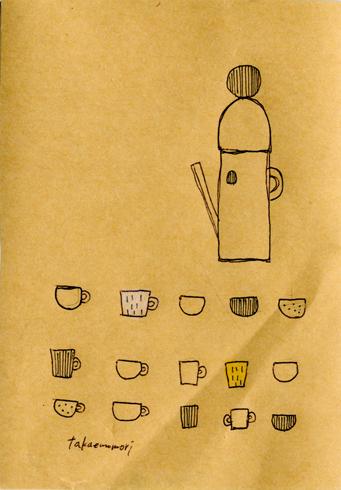 ポットとカップたち