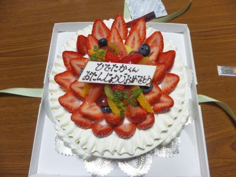 バースデーケーキ。。。パート1