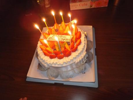 バースデーケーキ。。。パート2