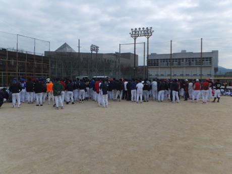2013年のソフトボールの開会式。。。