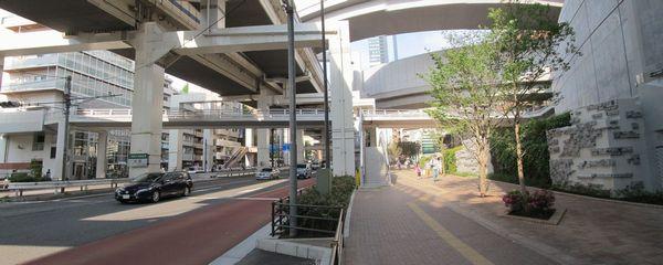 国道246号・首都高速3号渋谷線とオーパスブリッジ