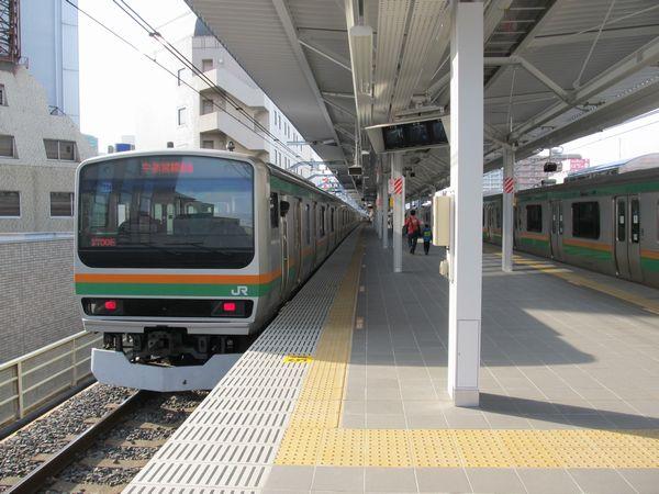浦和駅湘南新宿ライン5・6番線ホーム