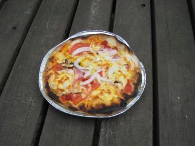 ピザ おいしい~