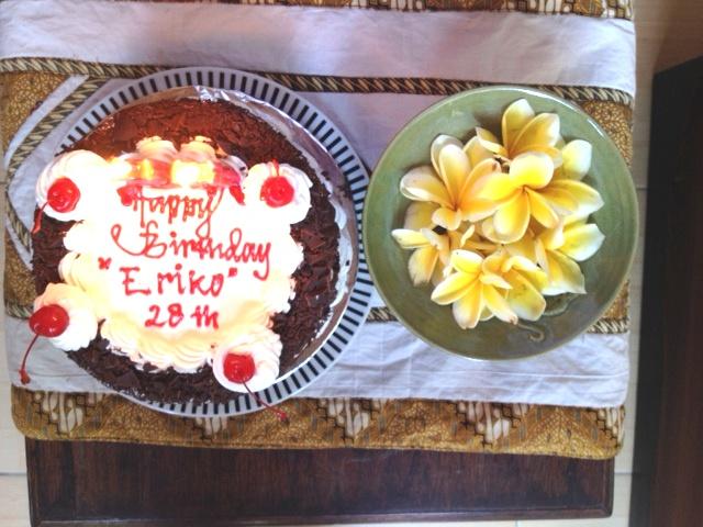 birthday cake nishijima san