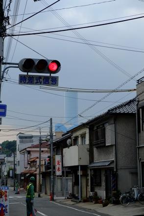 長田から巨大排煙塔