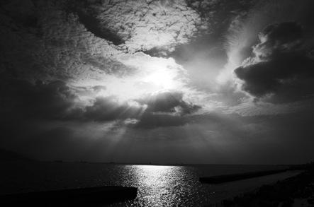 大蔵海岸の夕陽