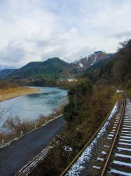 明塚−石見簗瀬 江の川