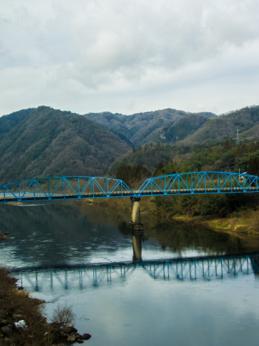 明塚−石見簗瀬 鉄橋