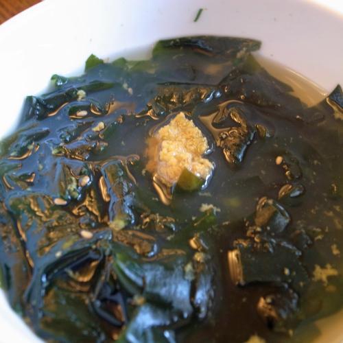 1昼うにスープ