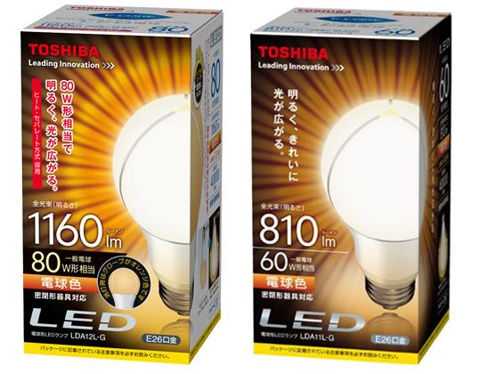 LED電球(東芝)