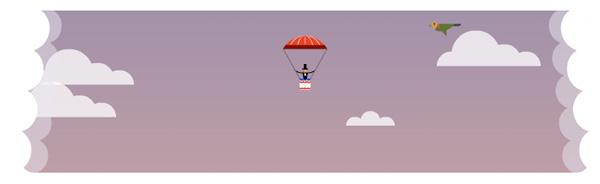 世界初のパラシュート降下 216周年