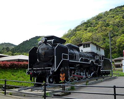 津和野駅・SL