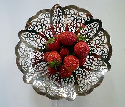 初摘みイチゴ