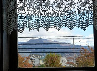 窓より 赤城山