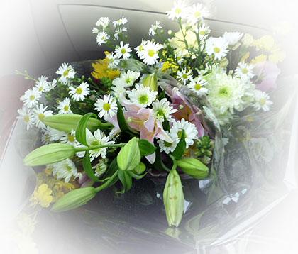 お墓参りのお花