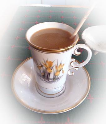 ティ-チョコミルク