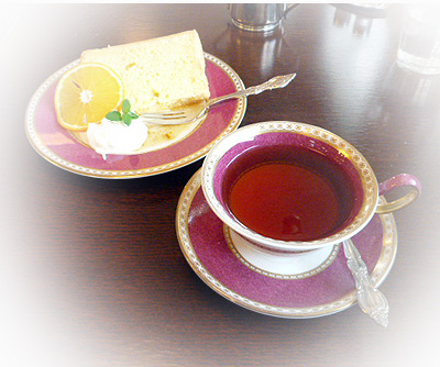 柚子シフォン&ダ-ジリン
