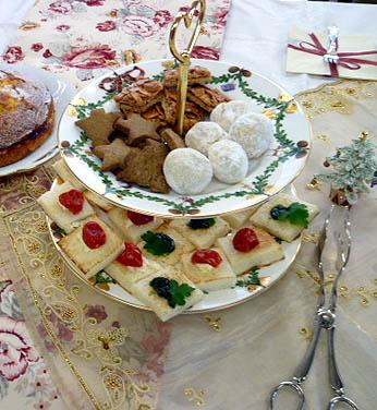 カナッペ&焼き菓子三種