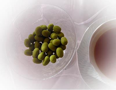 抹茶あづきチョコ