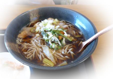 肉山菜蕎麦