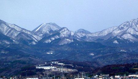 今日の榛名山