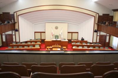 和歌山県議会 議場の全体写真