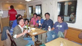 横浜乗船組も参戦